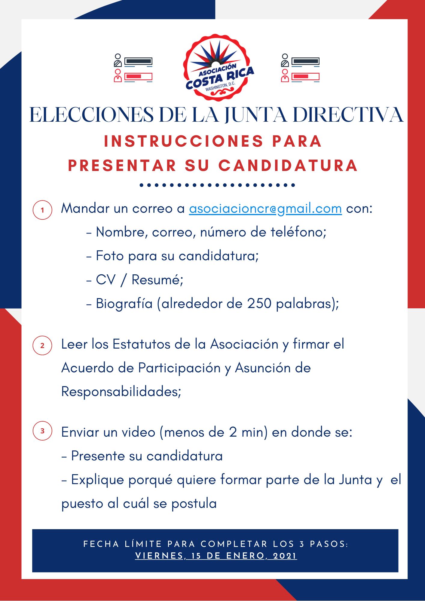 Flyer Elecciones ACR