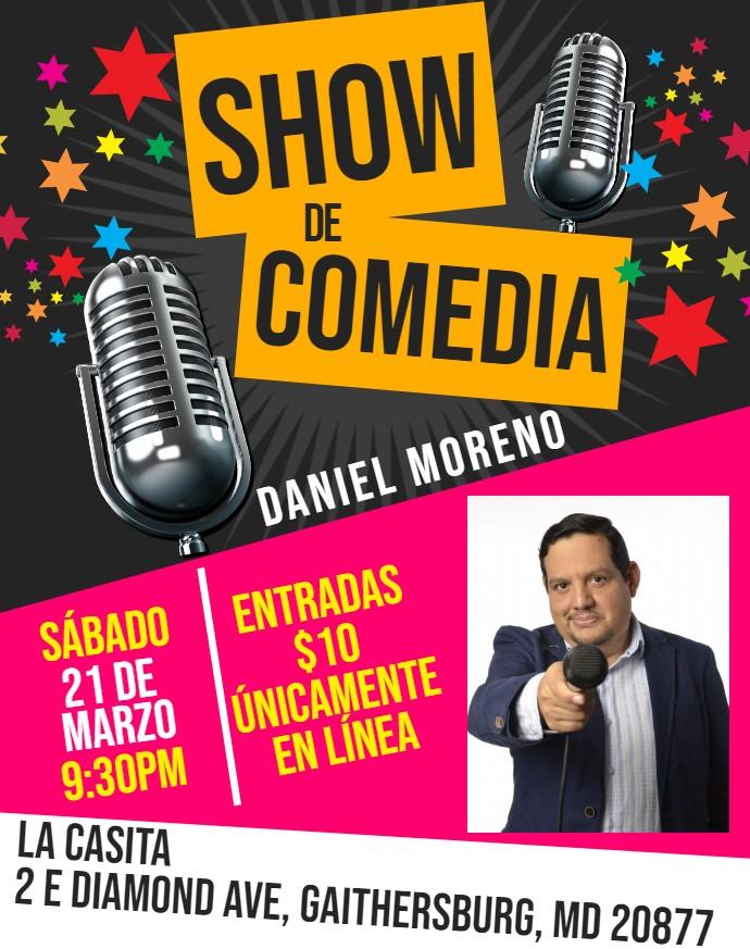 Show de Comedia - Daniel Moreno - FINAL